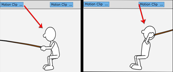 Смешивание движений в CrazyTalk Animator