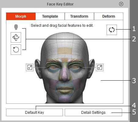 Face Key Editor