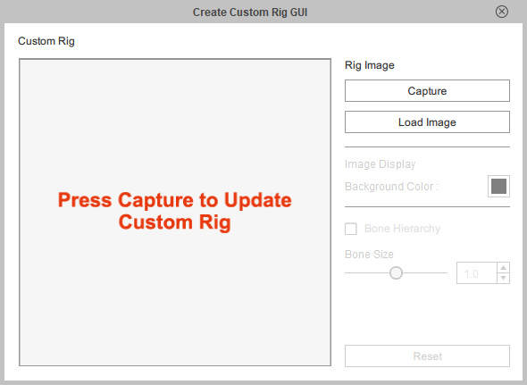 Create Custom Rig GUI