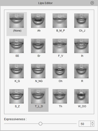 Lips Editor