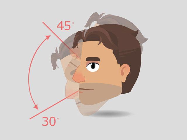 Имейте в виду, что углы поворота по вертикали для перечисленных выше головок составляют 45 градусов вверх и 30 градусов вниз.