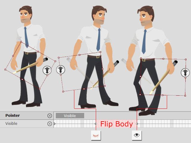 Flip Body и реквизит