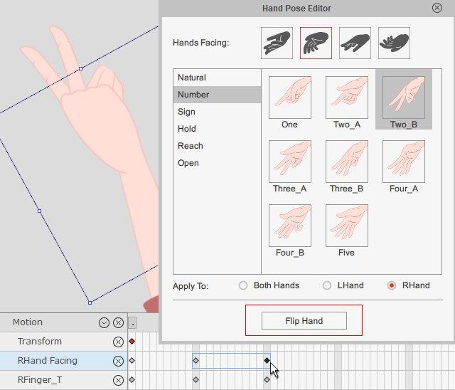 Hand Pose Editor