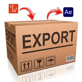 экспорт в After Effects