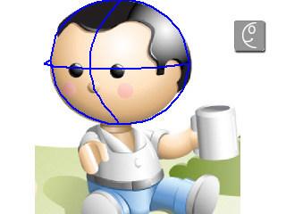 3D Face Orientation